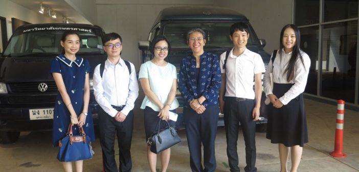 KUCSC welcomed the Director of Confusious Institute of Kasetsart University