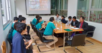 KUCSC welcomed academic staffs from Savannkhet University, Lao PDR, to observing visit in Library Management