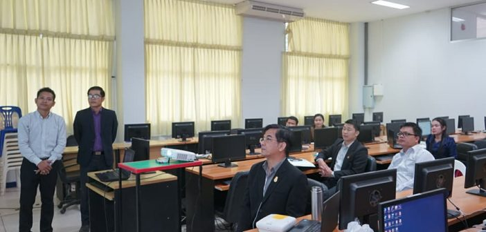 Faculty of Science and Engineering welcomed academic staffs from Champasak University, Loa PRD, to participate in Network and Web-Programing Training Course